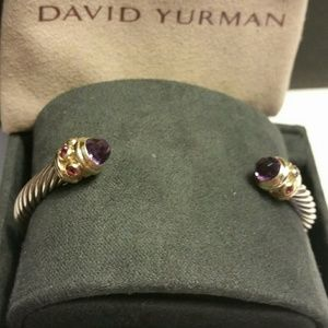 David Yurman Renaissance SS/14K Gold Cuff